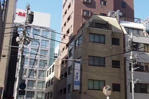 東京アムフラットの外観