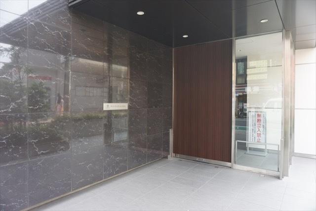 ザパークハウス品川荏原町のエントランス