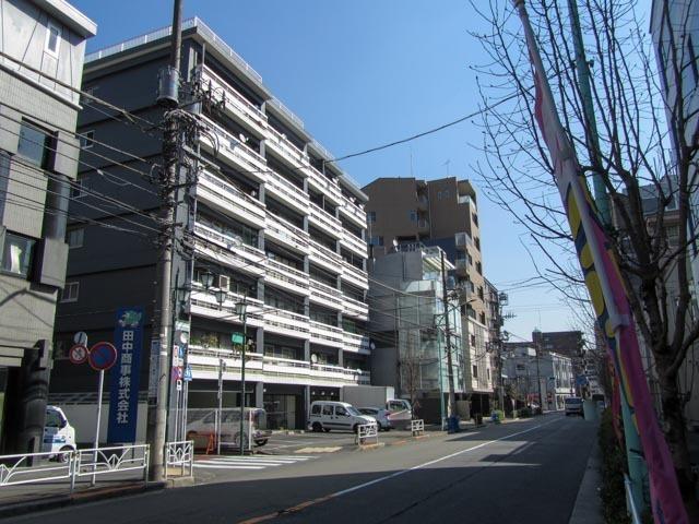 松濤マンション(渋谷区富ヶ谷)の外観