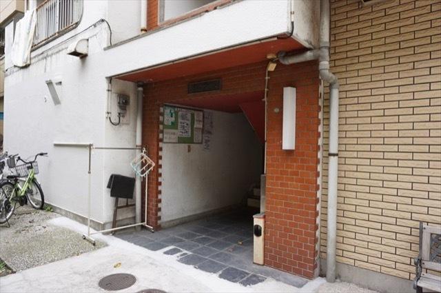 パークマンション(横浜市)のエントランス