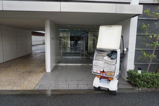 ガーデンホーム大倉山のエントランス