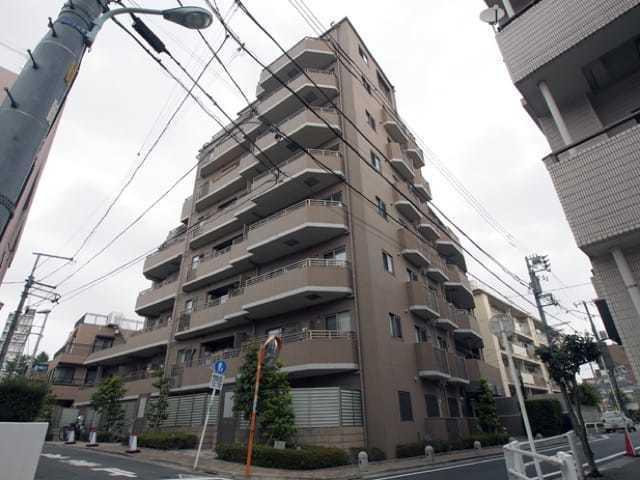 日神パレステージ板橋本町の外観