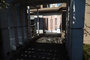 セボンガーデン桜新町のエントランス