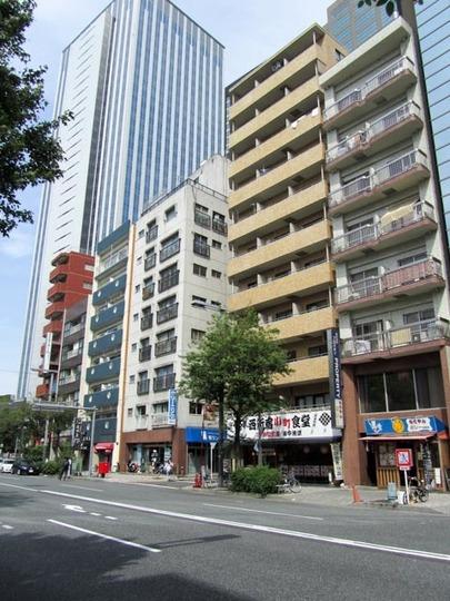 ライオンズマンション西新宿第7の外観