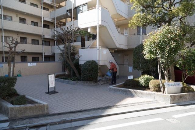 コスモ二子玉川のエントランス