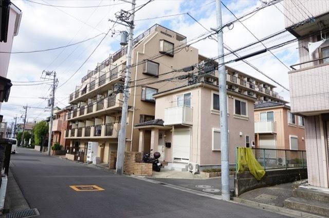 モナークマンション武蔵新城第2の外観