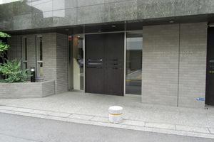 パークハウス西早稲田のエントランス