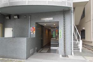 日火江戸川橋ビル第2のエントランス