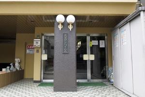 大晃サンハイムAのエントランス
