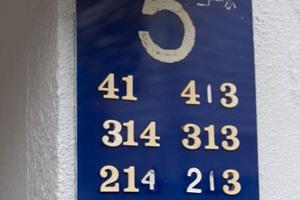 四谷軒第5経堂シティコーポの看板