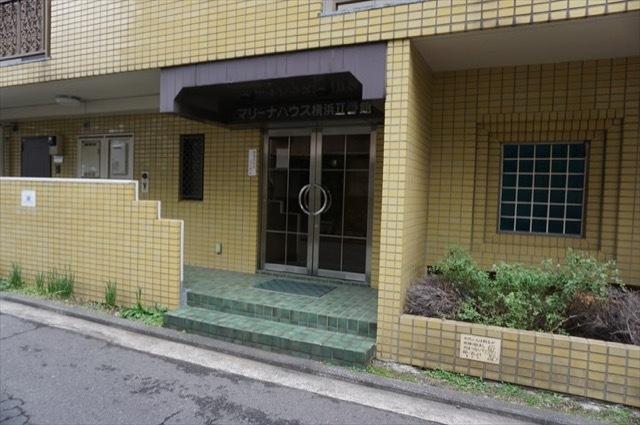 マリーナハウス横浜2番館のエントランス