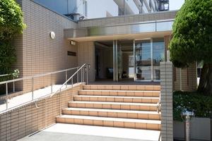 富士見台マンション(貫井1丁目)のエントランス