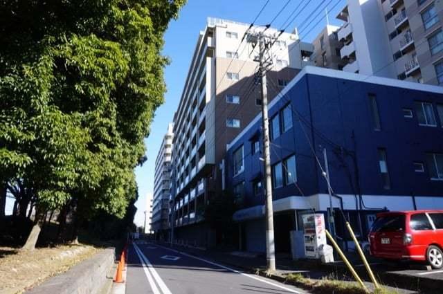 ミオカステーロ新横浜の外観