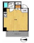 ライオンズマンション西新宿第6の間取り