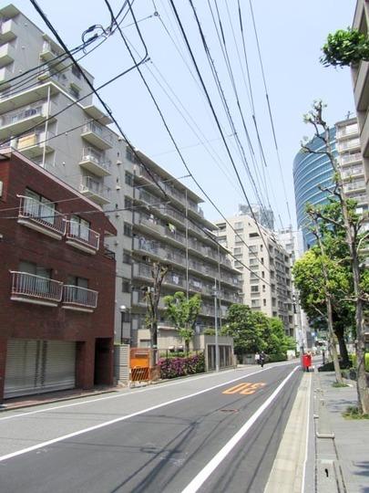 飯田橋第1パークファミリアの外観