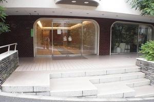赤坂パークハウスのエントランス