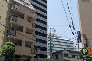 ステージファースト飯田橋アジールコートの外観