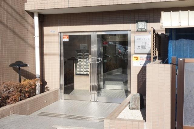 藤和シティコープ大倉山太尾町のエントランス
