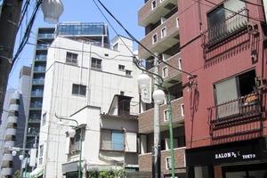 菱和パレス早稲田参番館の外観