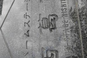バームステージ西葛西の看板