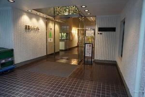 東京ベイサイドのエントランス