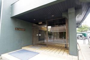 グレース東武高島平のエントランス