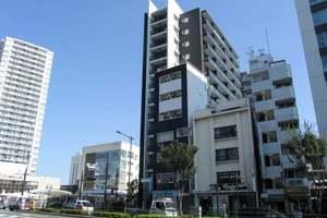 シティハウス東中野駅前の外観