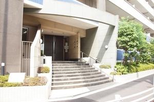 グランアジール東京アクアレジデンスのエントランス