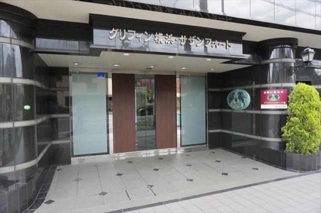 グリフィン横浜サザンフォートのエントランス