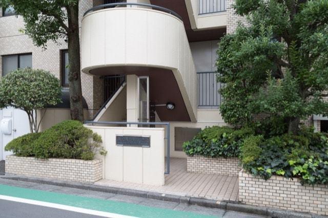 東松原シティハウスのエントランス