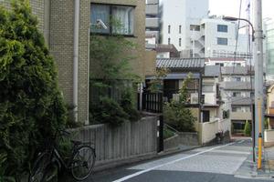 マートルコート新宿ガーデンハウスの外観