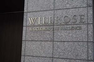 ウィルローズ八丁堀レジデンスの看板