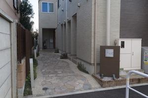 リムテラス駒沢大学のエントランス