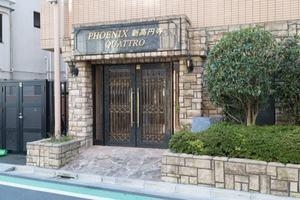 トーシンフェニックス新高円寺クアトロのエントランス