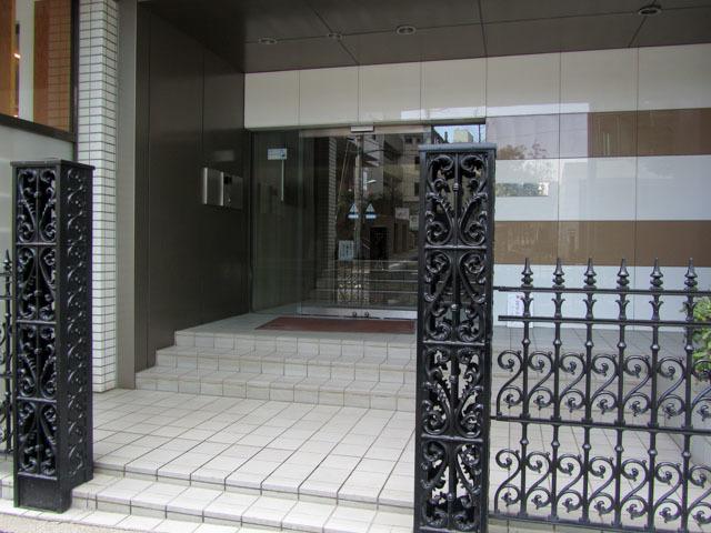 オーベル渋谷のエントランス
