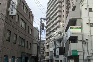 ライオンズマンション渋谷道玄坂の外観