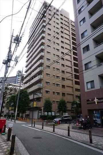藤和阪東橋ハイタウンの外観