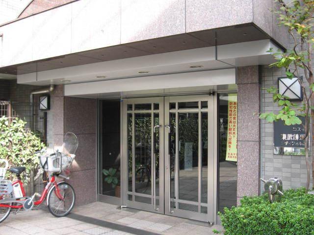 コスモ東武練馬シティフォルムのエントランス