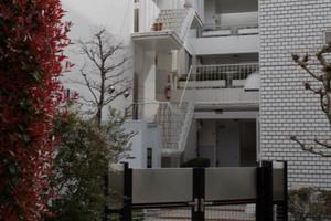 ラミアール桜新町のエントランス