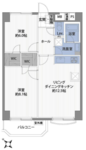 東武西新井東ロサンライトマンションAの間取り
