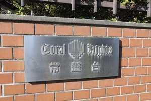 コーラルハイツ常盤台の看板
