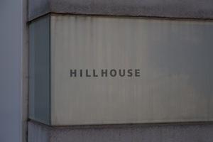 HillHouse(ヒルハウス)の看板