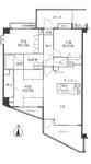 クリオ横須賀中央5番館の間取り