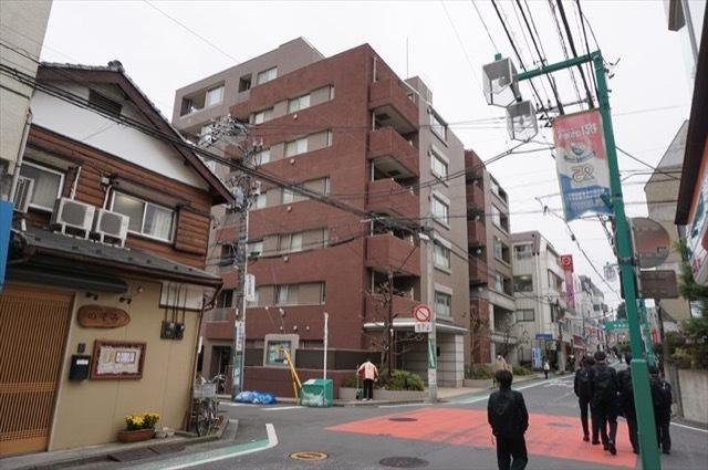 ファミール日吉本町の外観