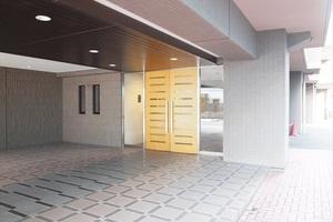 菊川南ガーデンハウスのエントランス