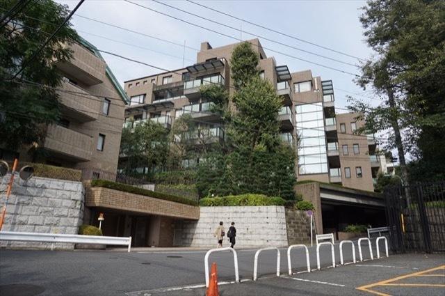 東急ドエルプレステージ赤坂氷川町の外観
