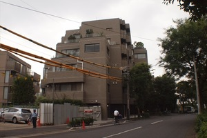 南青山豊田パークマンションの外観