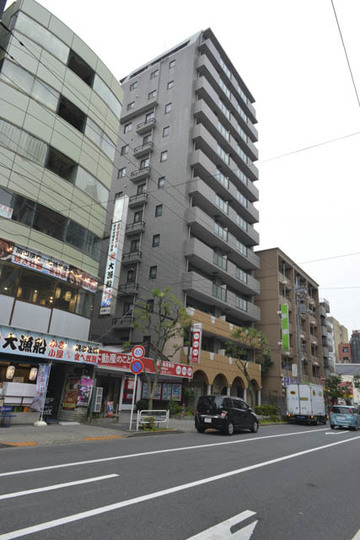 ライオンズマンション篠崎駅前の外観