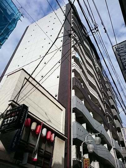 ヴェルステージ蒲田駅前の外観