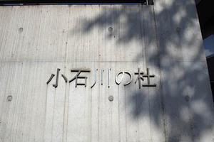 小石川の杜の看板